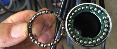 Bicycle Repair - Head Tube Bearing Replacement