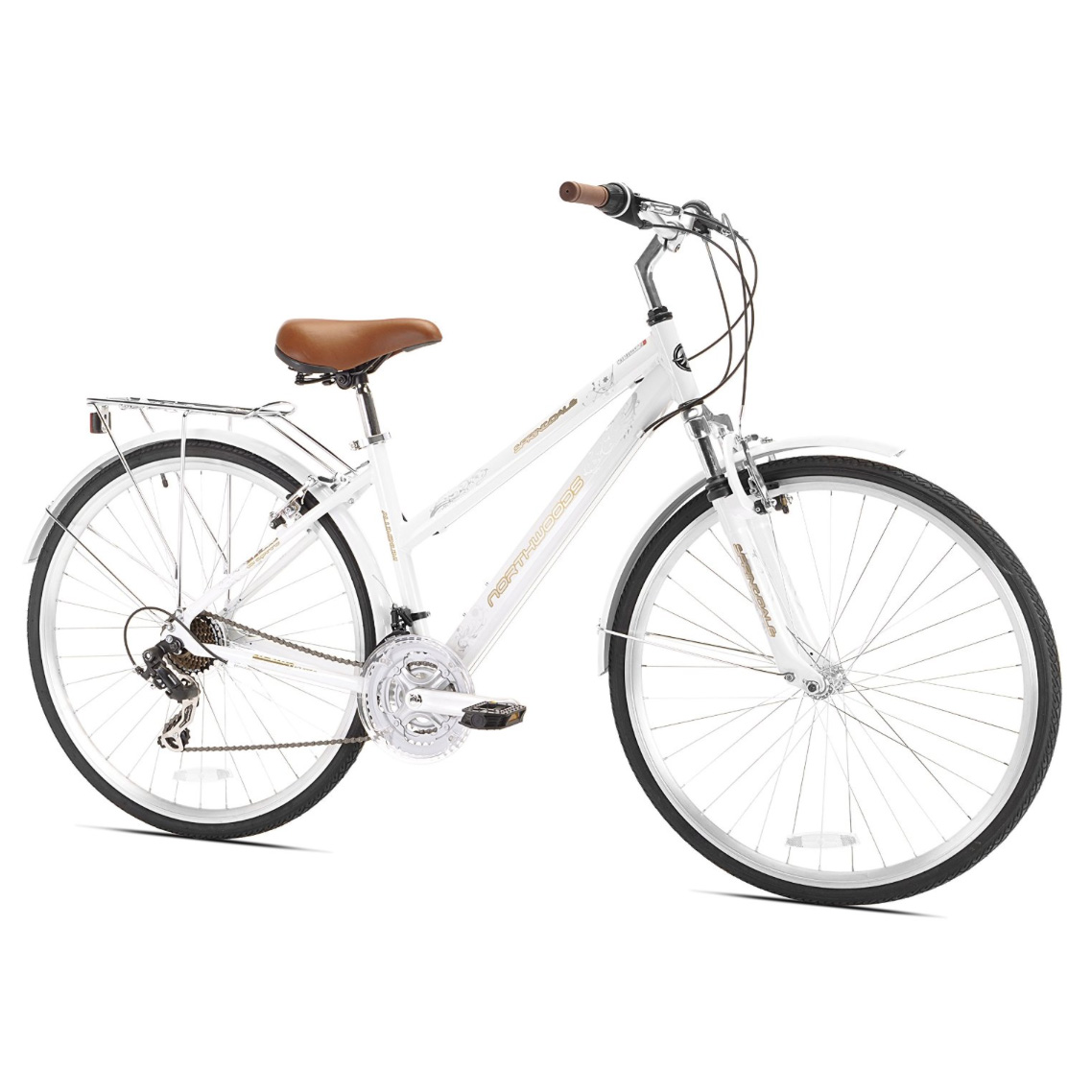 Northwoods - Springdale Women's 21-Speed Hybrid Bicycle, 700c