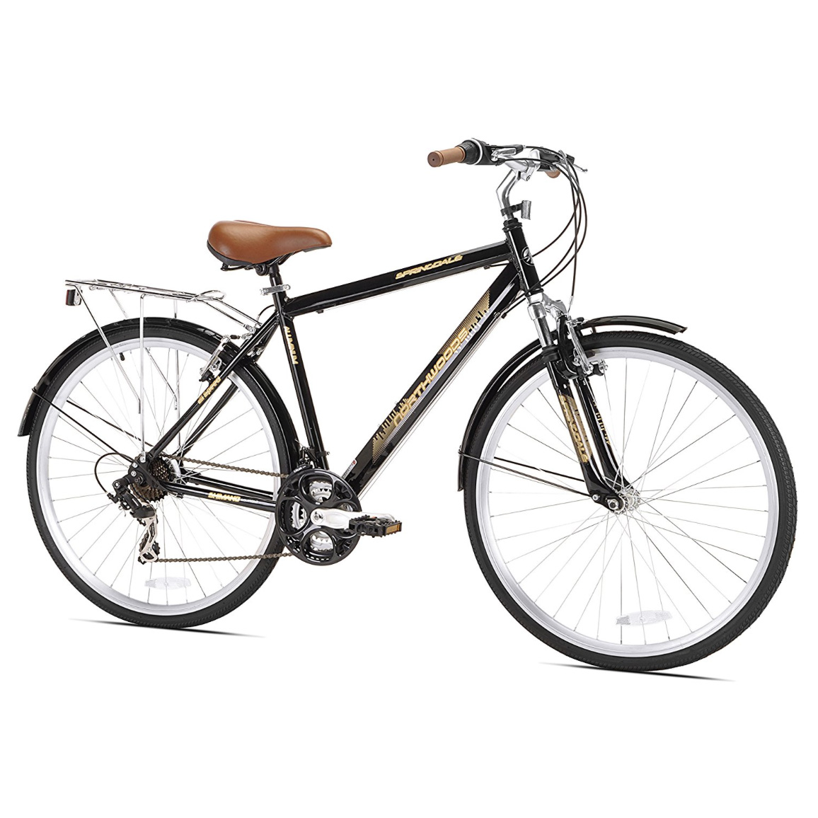 Northwoods - Springdale Men's 21-Speed Hybrid Bicycle, 700c