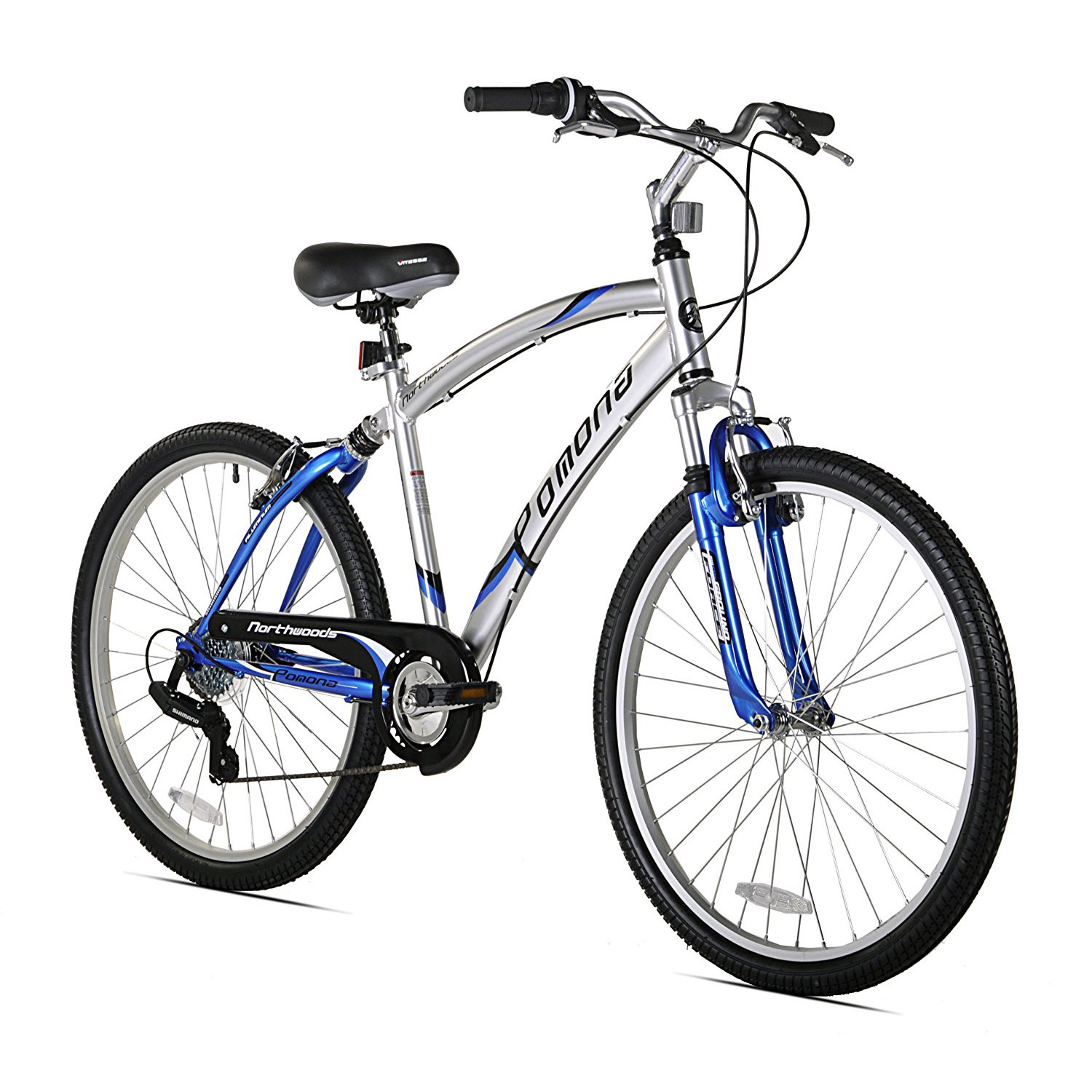 Northwoods - Pomona Men's Cruiser Bicycle, 26-Inch