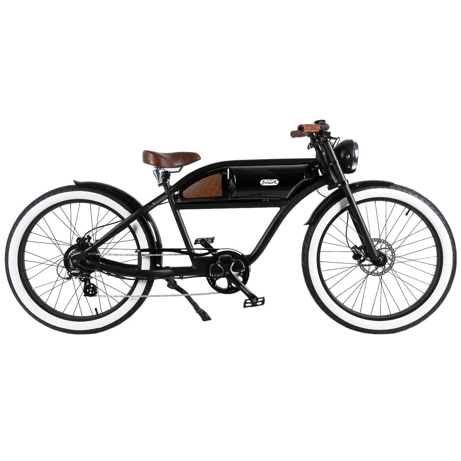 T4B - GREASER BOARD TRACK STYLE ELECTRIC BICYCLE - 36V, 250W