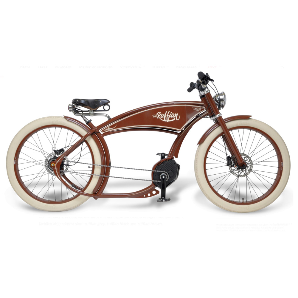 THE RUFFIAN - ELECTRIC BICYCLE RETRO STYLE BOSCH