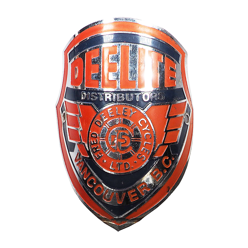 DEELITE Head Badge - Fred Deeley Cycles