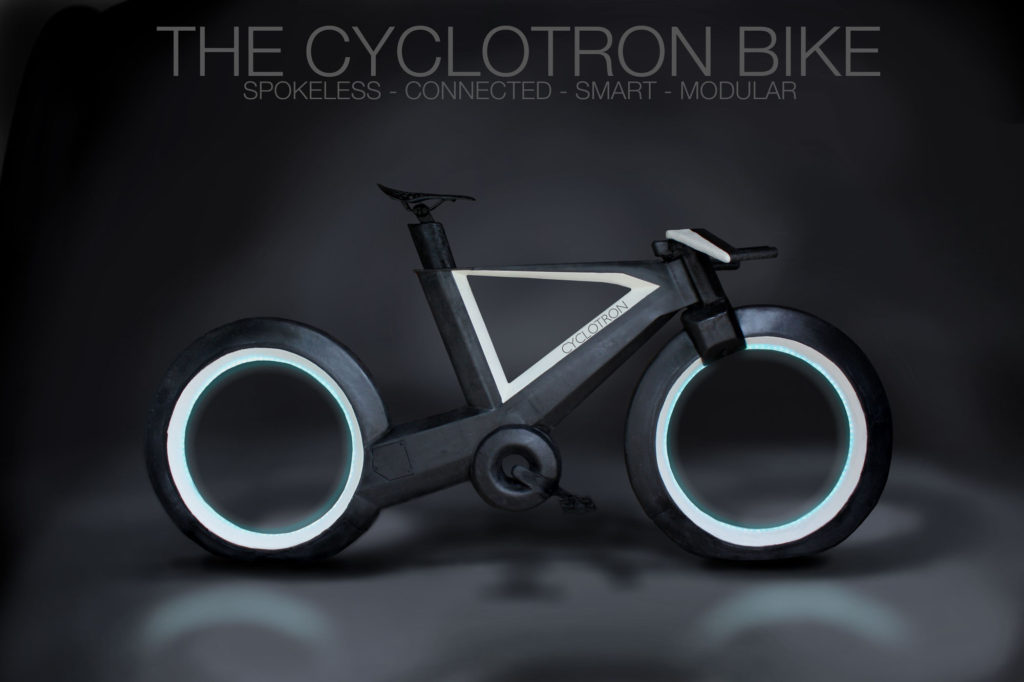 Concept bicycle, The Cyclotron, Kickstarter